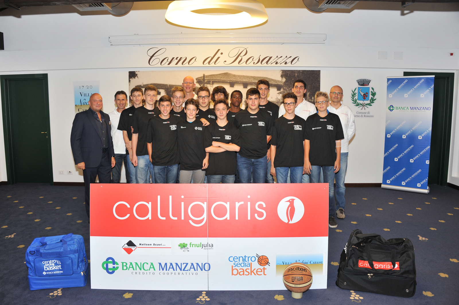 Calligaris Under 15 Stagione 2015-2016